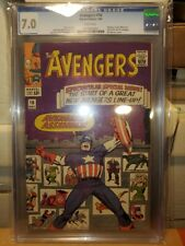 Avengers #16 CGC Grade 7.0 Hawkeye, Scarlet Witch and Quicksilver