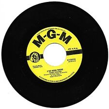 EDWARDS, Tommy  (I've Been There)  MGM K12814 = VINTAGE record