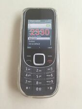 Nokia 2330 Clear Back Phone Case
