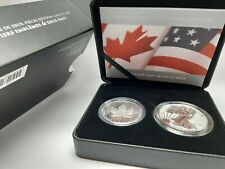 2019 Pride Of Two Nations Coin Set 10k Mint Canada Release