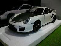 PORSCHE 911 997 GT2 RS de 2011 blanc 1/18 MINICHAMPS 100069405 voiture miniature