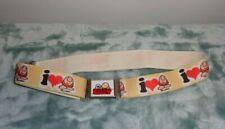 Vintage original kids' size ZIGGY Magnetic Belt Buckle & elastic belt