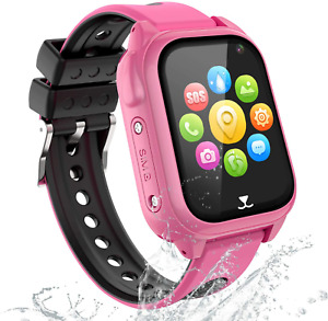 GPS Tracker Smartwatch Enfants - Montre Intelligente Téléphone pour Enfants Neuf