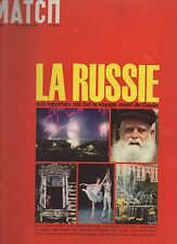 paris match n°898 / la russie l'URSS / 1966