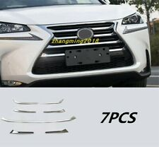 ABS Chrome Car Front Grill Grille Cover Trim For Lexus NX200t/300/300h 2015-2019