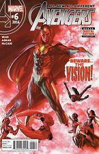 The Avengers #6 (NM)`16 Waid/ Asrar