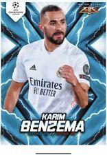 Match Attax Fire card - Real Madrid C.F. Karim Benzema /100 - Pre Order