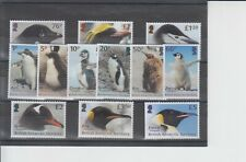 British Antarctic Territory 2018 Penguins Definitives 12v MNH