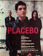 PLACEBO 2006 Advert UK CONCERT TOUR MEDS mini poster