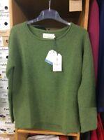 Seasalt Green Jumper. Sizes 10,12,14,16,18,20 . RRP £59.95