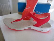 NWT Columbia Women's Sunbreeze Vent T PFG Flip Flops Sandals Mang Red Size 10