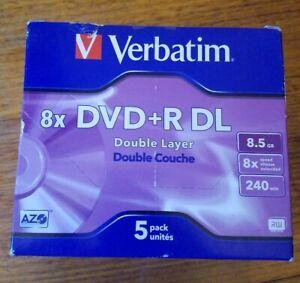Verbatim 8 X DVD+R DL 5 Pack