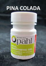 Opahl 20% Benzocaine Topical Anesthetic Gel PINA COLADA Tattoo Numbing Piercing