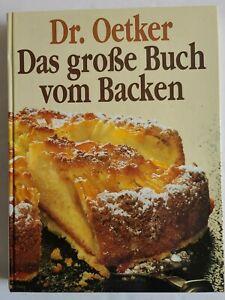 Dr Oetker Das Grobe Buch von Backen Cookbook  German Big Book about Baking HC 90