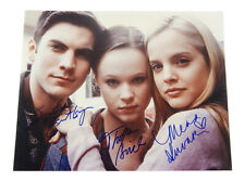 Wes Bentley Thora Birch Mena Suvari Signed American Beauty 11x14 Photo Jsa Coa
