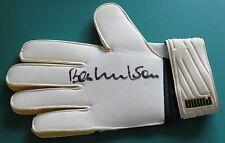 Bob Wilson Signed Autographed Goalie Goalkeeper Glove Arsenal Scotland AFTAL
