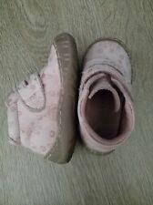 Chaussures enfant bebe fille en Cuir-Vertbaudet-Maintien-Rose-T20 Excellen etat