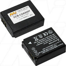 3.7V 1Ah Replacement Battery Compatible with Panasonic DMW-BCD10