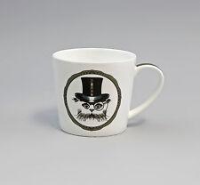 """Porzellan Becher/Tasse Dekor """"Katze mit Zylinder"""" Jameson&Tailor 9952270"""