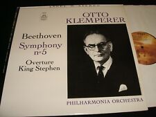 BEETHOVEN°SYMPH. NO.5<>OTTO KLEMPERER<>Lp Vinyl~USA Pressing~ANGEL 35843