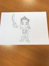 Disney Junior jake and the neverland pirates Drawing Sketch Original artwork