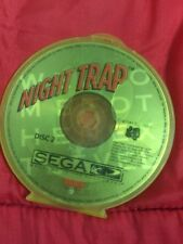Night Trap (Sega CD, 1992) DISC 2 ONLY VERY GOOD CONDITION