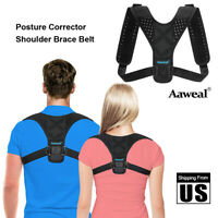 Posture Correction Back Shoulder Corrector Support Brace Belt Therapy Men Women