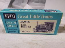 g Peco Narrow Gauge UNUSED UNBUILT BOXED James Loco Body Kit GL 2 OO HO 9