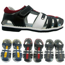 NEW BOYS KIDS ORTHOPEDIC GLADIATOR TOUCH STRAP CHILDRENS SPORTS OUTDOOR SANDALS