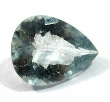 Natural Aquamarine Loose Gemstone 11.30x9mm Faceted Pear Cut S121