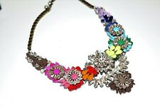 Multi Colored Statement Jewell  Necklace  Neon #GY1