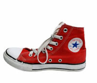 Converse All Star Chuck Taylor Red High Tops Unisex Youth Size 2