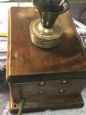 Vecchio ANTIQUARIATO Telefono Telefono Muro Decorazione