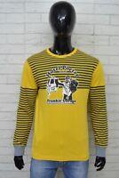 Maglia Uomo FRANKIE GARAGE Taglia Size L Shirt Man Maglietta Camicia Polo