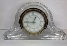 Waterford Ireland Crystal Mantle Desktop Clock