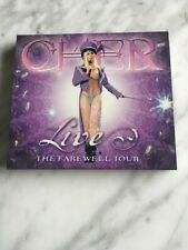 Cher - Live: The Farewell Tour (CD, 2003) LIMITED EDITION SLIPCASE
