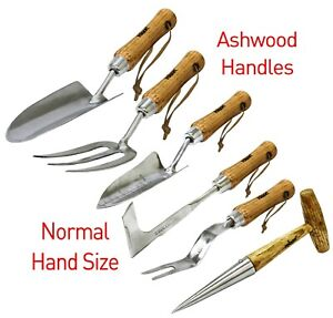 Stainless Steel Hand Garden Tools Potting and Cultivating 6 Verities
