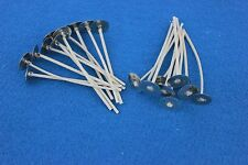 """Votive Wicks ~ 100ct ~ #535 - 2.5""""  for beeswax, natural waxes"""