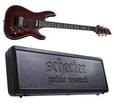 Schecter Hellraiser C-1 FR-S Sustainiac BCH NEW Black Cherry + HARDSHELL CASE!