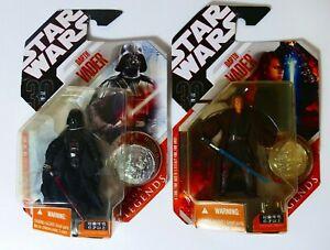 Hasbro Star Wars 30th Anniversary Collection Darth Vader Young and Old BOC