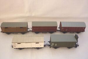 Kleinbahn - Gauge H0 - 5 Freight Car - See Photos - (6.EI-69)