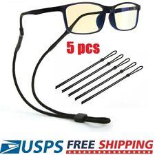 5pcs Sport Sunglass Neck Strap Eyeglass Read Glasses Neck Cord Lanyard Holder US