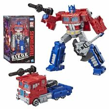 Transformers Siege OPTIMUS PRIME FIGURE Voyager Class: War For Cybertron