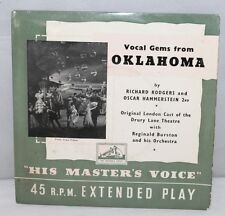 """45 7"""" EP-rodgers et Hammerstein/vocal gems from Oklahoma - 1956 - 7EP7023"""