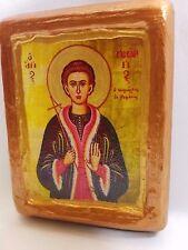 Saint George Neomartyr of Rapsane Ecclesiastical Art Icon