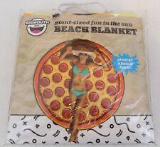 Bigmouth Inc. ~ Beach Blanket-Giant- 00004000 Sized Pizza Design~Microfiber ~ 5'x5' ~ New