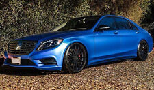 """22"""" RF15 STAGGERED CONCAVE GLOSS BLACK WHEELS RIMS SET MERCEDES S CLASS S550"""
