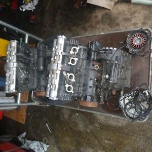 yamaha fazer 600 99-03 engine rocker cover  breaking engine for parts 1999-2003