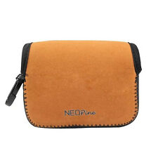 QSL-G5X-09 Brown Camera Case for Canon PowerShot G5X