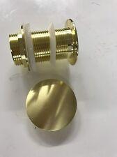 2018 new Burnished Brass gold Brushed Pop Up Waste Plug 40 mm NO Overflow